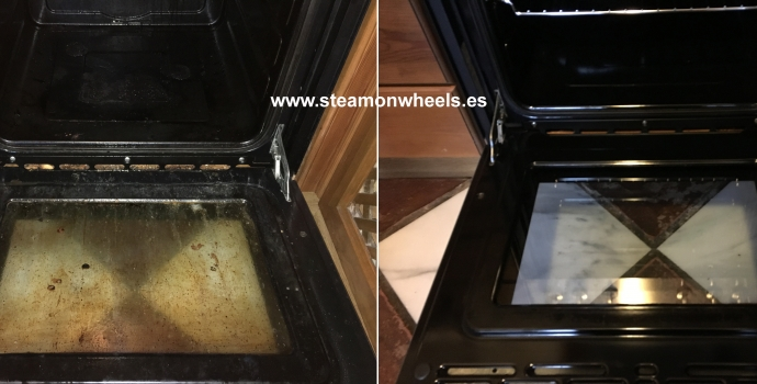 Oven Steam Cleaning and Disinfection