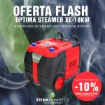 OFERTA FLASH:  -10%  OPTIMA STEAMER XE-18KW