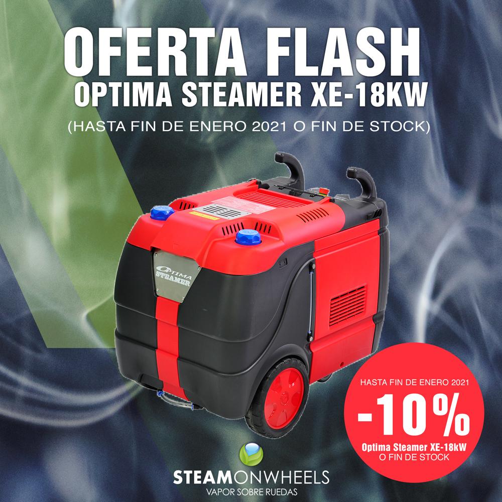 OFERTA FLASH: -10% OPTIMA STEAMER XE-18KW